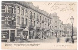 Koekelberg: Leopold II laan vers le parc Elisabeth.