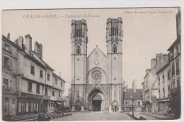 Saône Et Loire :   CHALON  Sur   SAONE  :  Cathédrale    St  Vincent - Chalon Sur Saone