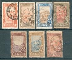 Collection TUNISIE ; Colonies ; Colis Postaux ; Y&T N° ; Lot 010 ;  Oblitéré - Tunisie (1888-1955)