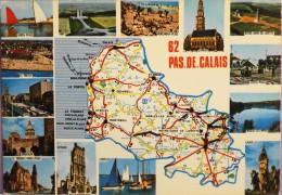 CARTE POSTALE FRANCE  - PAS-de-Calais - Vues De Diverses Villes - Bon état - France