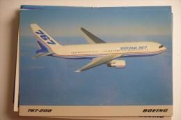 PROTOTYPE / AVION D ESSAIS     B 767 200 - 1946-....: Moderne