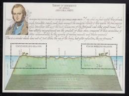 Cocos MNH Scott #81 Souvenir Sheet Of 2 Charles Darwin, Atoll - Cocos (Keeling) Islands
