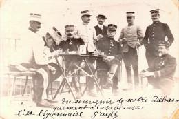 PHOTO ARMEE AFRIQUE DEBARQUEMENT CASABLANCA CAMPAGNE MAROC GENERAL ??