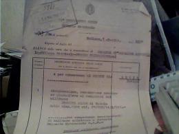 FOGLIO MILITARE  DISTRETTO MOGGIO UDINESE X  BELLUNO  14° REGGIMENTO GENIO SOCCORSO GIORNALIERO  1941 C5 - Manuscripts