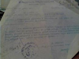 FOGLIO MILITARE  DISTRETTO  CORMONS  X ADRIA 11° REGGIMENTO ARTIGLIERIA  C.d'A.  COMPETENZE NON RISCOSSE1943  C5 - Manoscritti