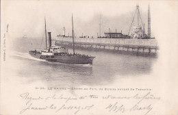 Al - Cpa LE HAVRE - Entrée Au Port Du Bateau Venant De Trouville (précurseur) - Le Havre
