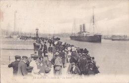 Al - Cpa LE HAVRE - Sortie De 'La Savoie' - Le Havre