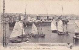 Al - Cpa LE HAVRE - Le Transatlantique  'La Savoie' Dans Le Port - Le Havre