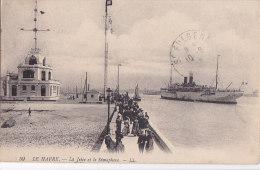 Al - Cpa LE HAVRE - La Jetée Et La Sémaphore - Le Havre