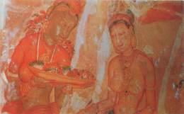 CEYLON - Sigiriya Frescoes - Sri Lanka (Ceylon)