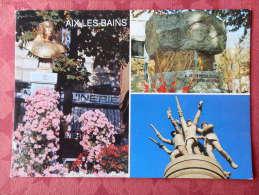 Dep 73 , Cpm  AIX Les BAINS  , Multivues , 73100 V 141  (087) - Aix Les Bains