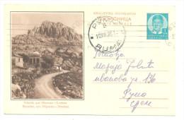 VELEBIT - OBROVAC-LOVINAC RARE YEAR 1938 - Croatia