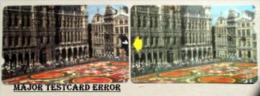 "Numbered Major Testcard Error (""nr 1"") ! In Catalogue! Printrun: 1 Of Each Number!!! - Turkey"