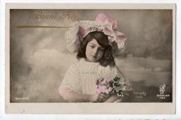 ENFANTS . JOLIE PETITE FILLE . BOUQUET DE FLEURS - Réf. N°6994 - - Portraits