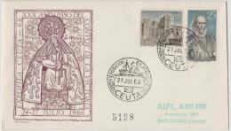 SPAGNA - ESPAÑA - Spain - Espagne - 1966 - EXPOSICION FILATELICA CEUTA - Expofila - FDC - FDC