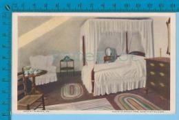 Patriotic USA 1926 (   Room In Wich Mrs Washington Died  ) Carte Postale Post Card Recto/verso - Histoire