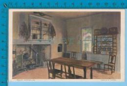 "Historic USA 1926 (   Mount Vernon VA  ""Family Kitchen"" ) Carte Postale Post Card Recto/verso - Histoire"