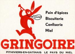-  BUVARD  Pain D'épices GRINGOIRE - 45 PITHIVIERS-EN-GATINAIS - 752 - Cake & Candy