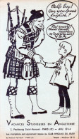 -  BUVARD  Vacances Studieuse En Angleterre - 756 - Kids