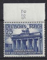 Germany 1941  Grosser Preis, Hoppegarten (**) MNH  Mi.803 - Germany