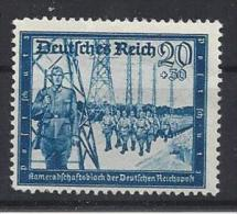 Germany 1944  Kamaradschaftsblock  (**) MNH  Mi.882 - Germany