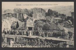 DF / SPECTACLES / OPÉRA / A BÉZIERS (HÉRAULT) 1908/ LE PREMIER GLAIVE. Ier ACTE : LE BRENN INVITE DUIBERG A CHANTER - Opera