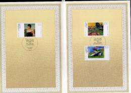 GERMANY GERMANIA ALLEMAGNE 11 8 1994 GERMAN PAINTINGS MODERN ART SONDERPOSTWERTZEICHEN TAG DER BRIEFMARKE FDC - Maximum Cards