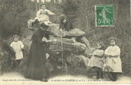 St AUBIN Du CORMIER.  A La Fontaine Minérale. - France