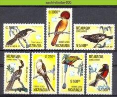 Naa1781 FAUNA VOGELS AALSCHOLVER CORMORANT BIRDS VÖGEL AVES OISEAUX NICARAGUA 1989 PF/MNH # - Konvolute & Serien