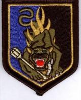Gendarmerie écusson D´épaule - CNFEG SAINT ASTIER Variante Yeux Verts - Police