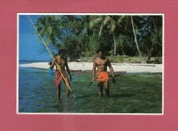 *  CPM..dépt 987..TAHITI..Tahitien  Fisherman :  Pêcheur Tahitien   : Voir Les 2 Scans - Polynésie Française