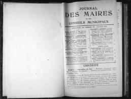 De 1930 - JOURNAL DES MAIRES - - Diritto