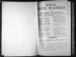De 1930 - JOURNAL DES MAIRES - - Derecho