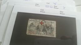 LOT 219972 TIMBRE DE FRANCE OBLITERE N�156 VALEUR 70 EUROS