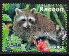 """FRANCE : N° 4034 Oblitéré (""""Nature"""" : Le Racoon De Guadeloupe) - PRIX FIXE - - Usati"""