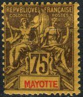 Mayotte, N° 012* Y Et T,12 - Unused Stamps