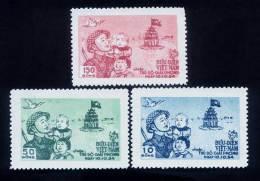 North Vietnam Viet Nam MNH Stamps 1955 :  Liberation Of Hanoi / Flag (Ms012) - Vietnam