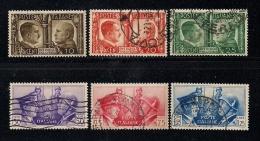 ITALY, 1941, Cancelled Stamp(s) Hitler & Musolini, MI 623-628, #16104 - 1900-44 Vittorio Emanuele III