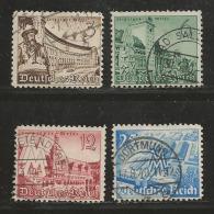 DEUTSCHES REICH, 1940, Used Stamp(s) Leipziger Messe MI 739-742, #16136 - Germany