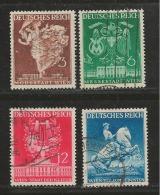 DEUTSCHES REICH, 1941, Used Stamp(s), Wiener Messe,  MI 768-771, #16146 - Germany