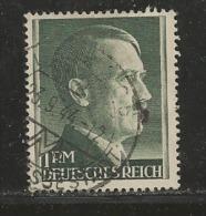 DEUTSCHES REICH, 1942, Used Stamp(s), Definitives Hitler  2RM  14,  MI 799B, #16153 - Germany