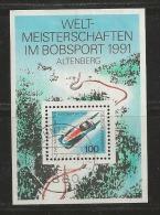 GERMANY, 1991, Used Block  Of Stamp(s), Bob Sport,  MI Bl23, #16239 , - [7] Federal Republic