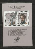 GERMANY, 1991, Used Block  Of Stamp(s),  Lilienthal,  MI Bl25, #16244 , - [7] Federal Republic