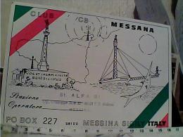 QSL GRUPPO  RADIO ITALAI  ALFA TANGO N1980  EM8435 - CB