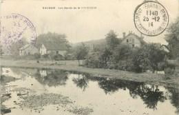 90 - Valdoie - ** Les Bords De La Savoureuse  **  - Cachet Militaire - Cpa - Voir 2 Scans. - Valdoie