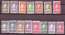 9-   CONGO BELGE       Série N° 135/149  Majorité Neufs*  Cote 32 Euros - 1923-44: Mint/hinged