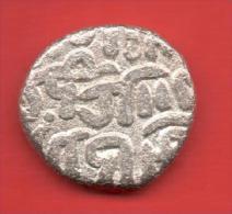 """INDIA-Delhi Sultan, Two Gani """"ALA AL-DIN MUHAMMAD"""" Billon-Silver Coin - Indias"""