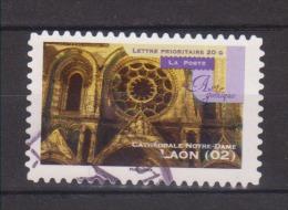"FRANCE / 2011 / Y&T N° AA 554 : ""Art Gothique"" (Laon) - Choisi - Cachet Rond - France"