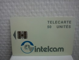 Phonecard Intelcam 50 Unites Used - Télécartes