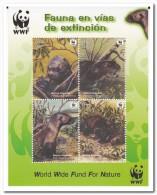 Peru 2004, Postfris MNH, Giant Otter, WWF - Peru